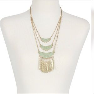 Lucky 🍀Gold-Tone Patina Statement Necklace
